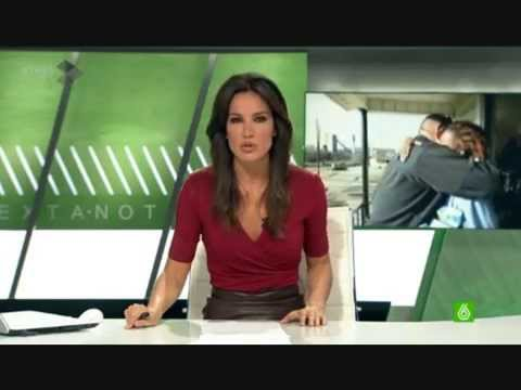 Cristina saavedra cuero leather falda de cuero la sexta - Armario de la tele antena 3 ...