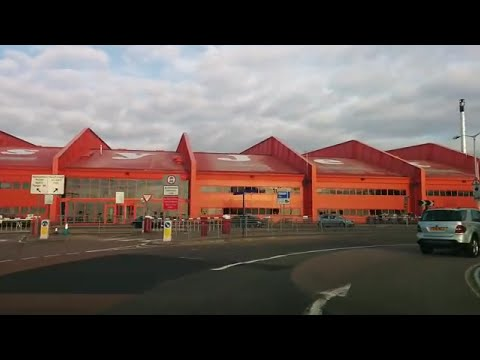 Driving in UK - London to Luton Airport