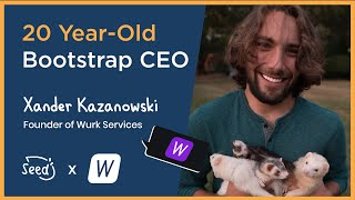 31. 20 Year-Old Bootstrap CEO – Xander Kazanowski, Founder of Wurk Services