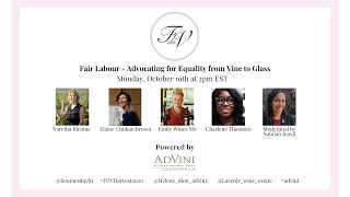 Femmes du Vin Harvest Seminar | Fair Labour, Advocating for Human Equality from Vine to Glass