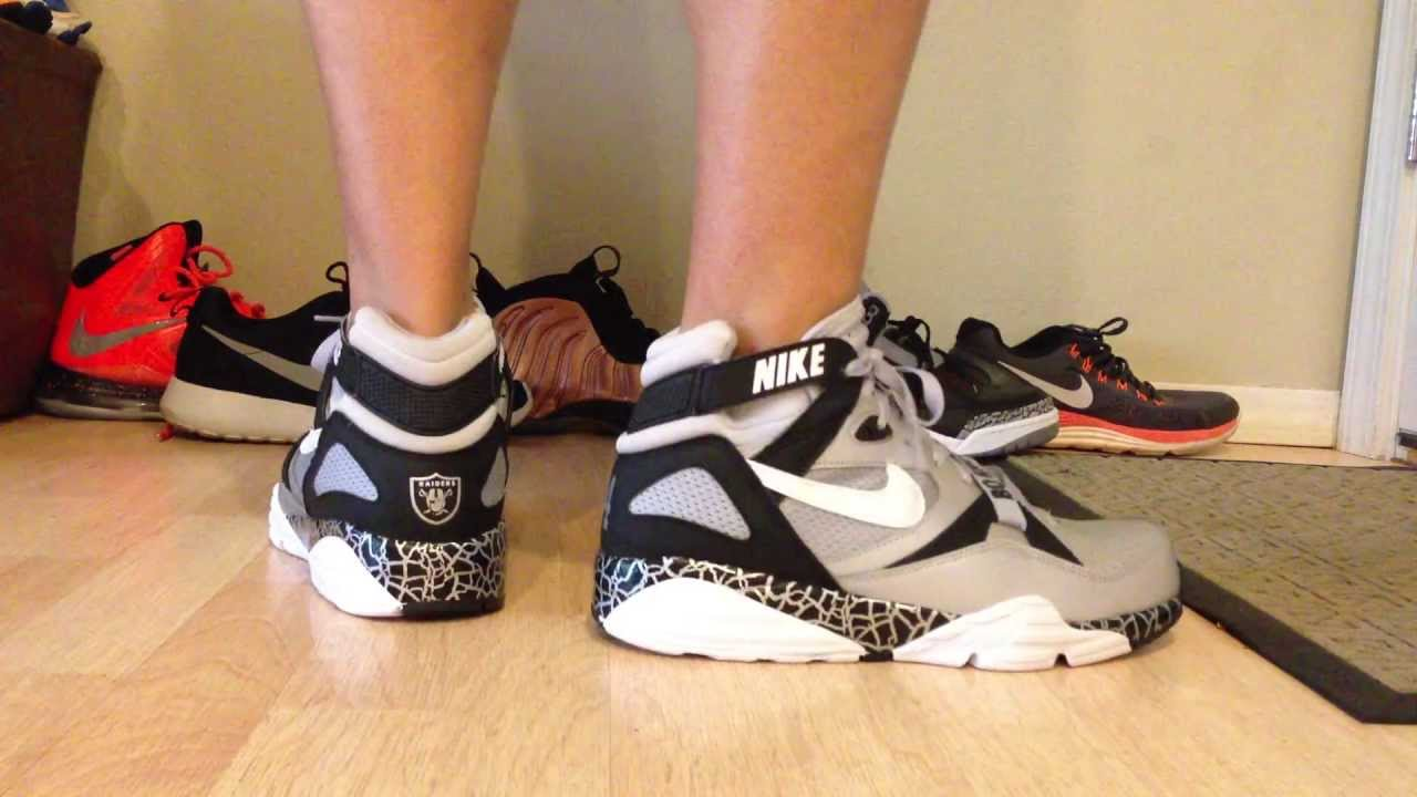 Bo Jackon Air Trainer Max 91 QS (NFL) Review On Foot (HD)