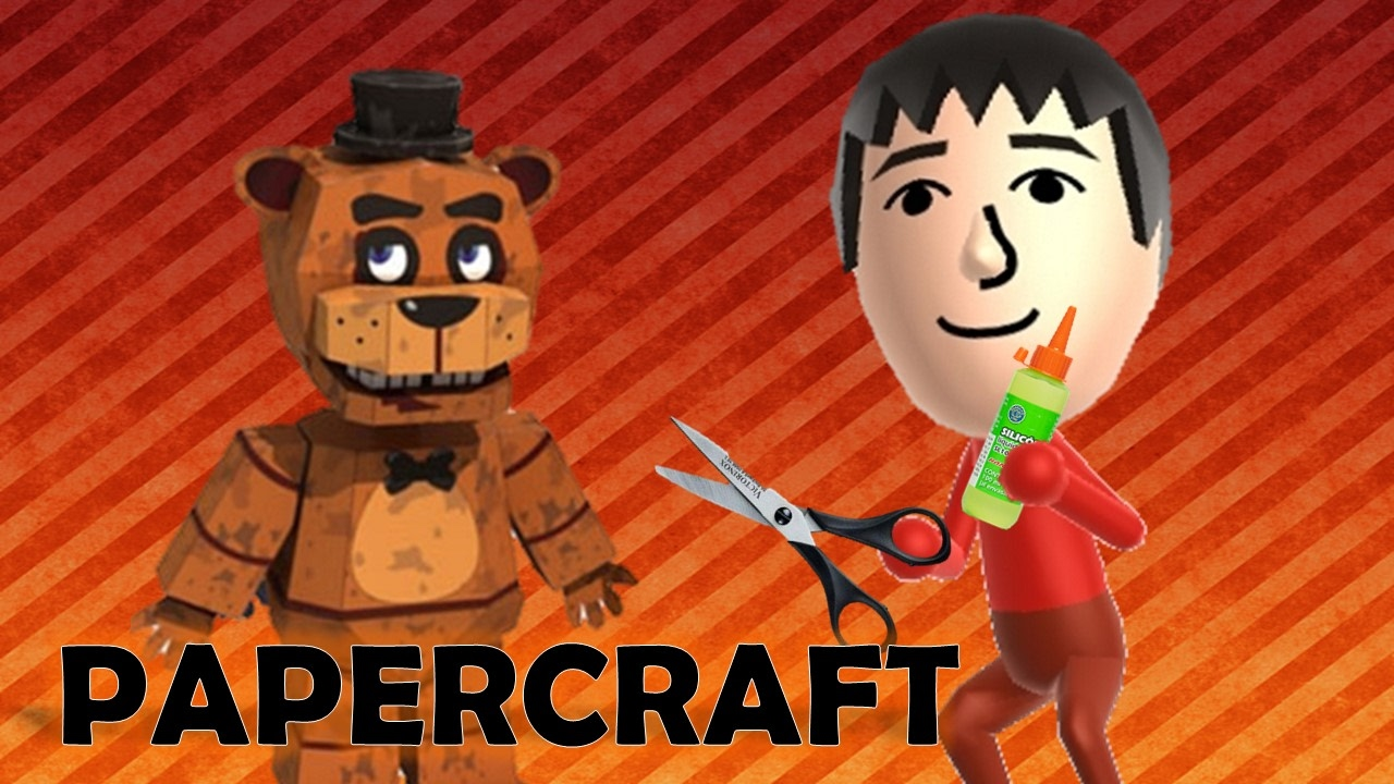 Papercraft Freddy Papercraft - Five Nights at Freddy's