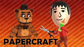 Freddy Papercraft - Five Nights at Freddy's