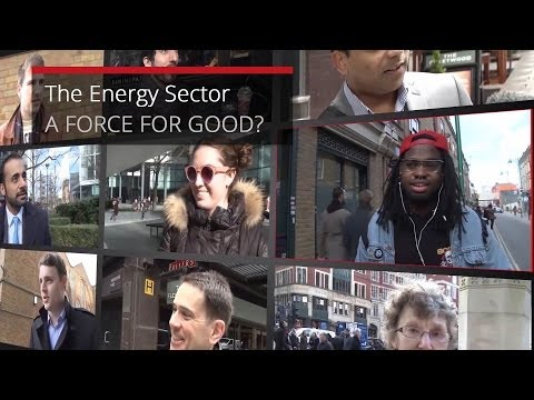 The Energy Sector - A Force for Good?