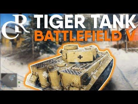 Battlefield V - TANK GAMEPLAY (TIGER 1) - EA PLAY 2018
