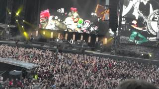 Die Toten Hosen live in Köln 2013, Intro, Ballast der Republik, Altes Fieber, Auswärtsspiel