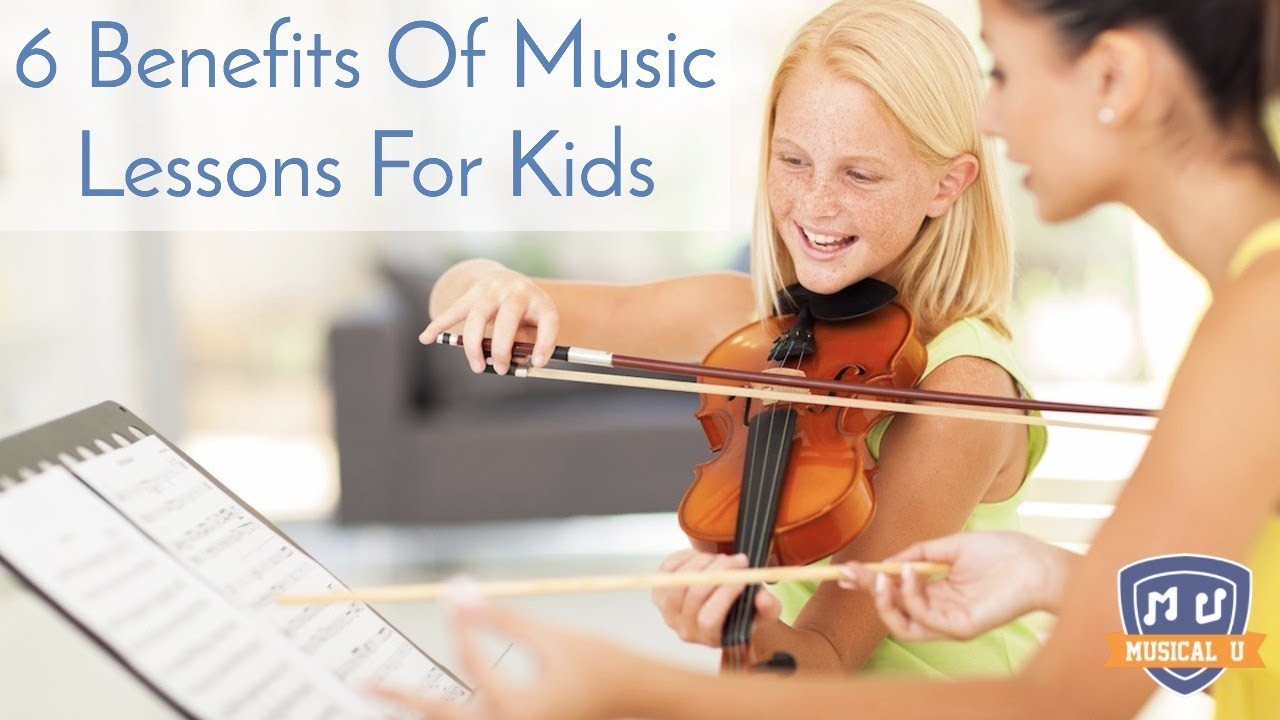 6 Benefits of Music Lessons for Kids