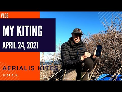 My Kiting - April 24th 2021 - Remotely Controlled Gimbal