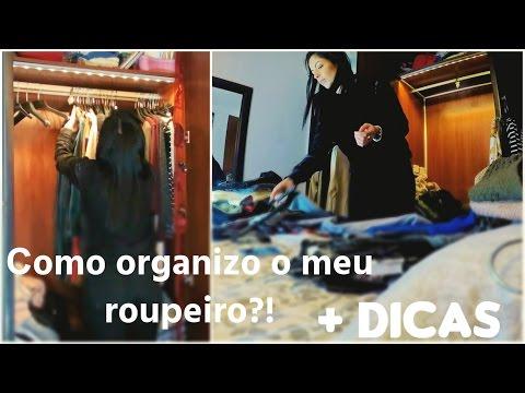 •  Como organizo o meu roupeiro?! + DICAS •