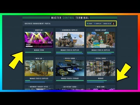 Become A Millionaire QUICK & EASY - GTA 5 Online Master Control Terminal Money Making Guide! (GTA 5)
