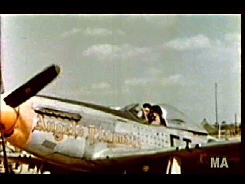354th Fighter Group P-51 Mustang Pioneers -Color-1945--New Version