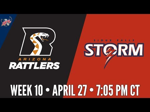 YouTube: Arizona Rattlers at Sioux Falls Storm : IndoorFootball