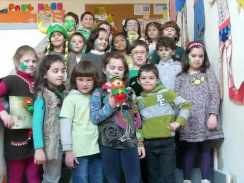 St. Patrick´s Day at school - 2013