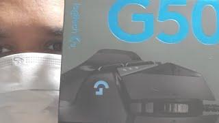 Gaming Mouse G 502 Logitech  hero Unboxing En Español En Vivo  2020