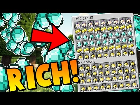 RICHEST INVENTORY?! | Minecraft: Money Wars 1.9 SOLO #8 (Gold, Diamonds, Notch Apples!)