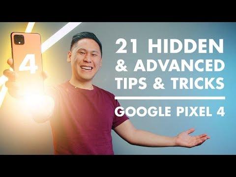 TOP 21 GOOGLE PIXEL 4 & 4 XL TIPS, TRICKS, HIDDEN & 'ADVANCED FEATURES'