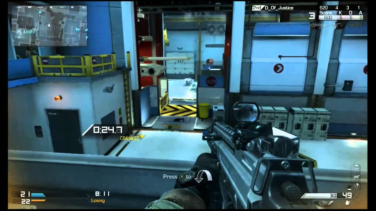 Cod: Ghosts Cranked Gameplay