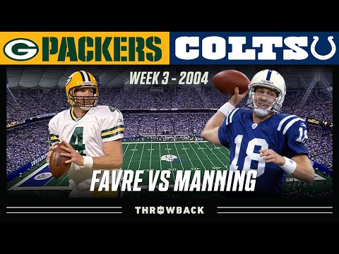 Favre vs. Manning: A MUST SEE Underrated Shootout! (Packers vs. Colts 2004, Week