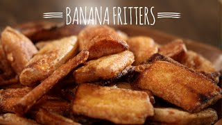 Banana Fritters | Easy To Make Snack Recipe | Masala Trails