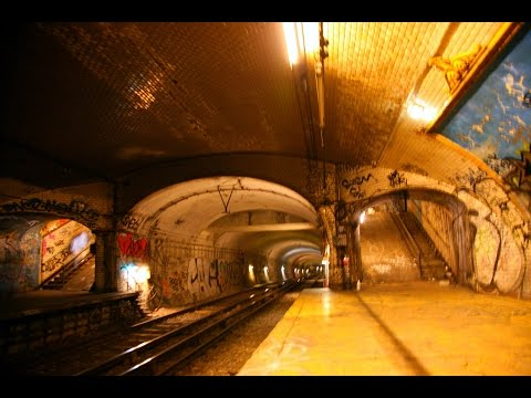 Ghost Stations of the Paris Metro - Abandoned Stations