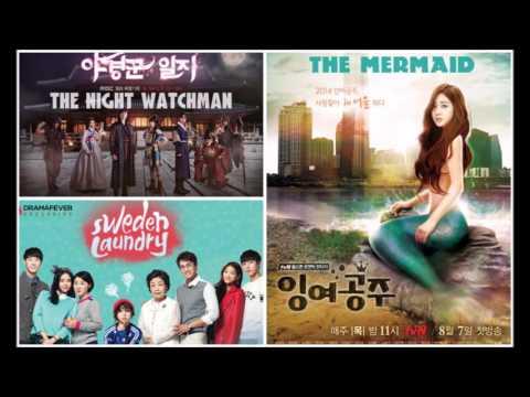 2014  Güney Kore dizileri