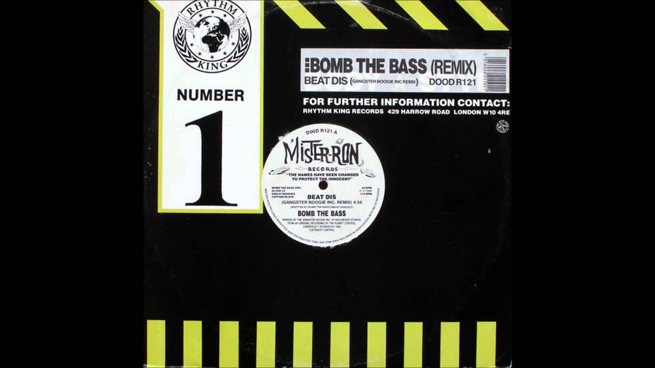 Bomb The Bass - Beat Dis (Gangster Boogie Inc, Remix)