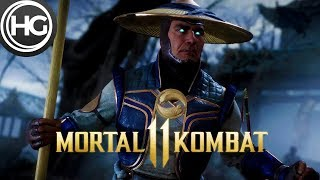 Mortal Kombat 11 Raiden vs. Baraka Gameplay (Fatality)