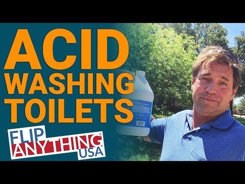 Acid Washing Toilets - Landlord Life - Real Estate Investing, Management Mentor
