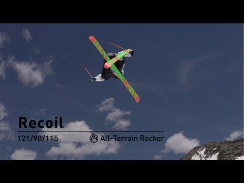 2014 K2 Recoil Ski Youtube