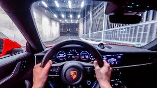 2019 porsche 911 carrera s 992 450ps night pov drive onboard 60fps