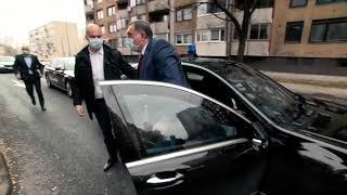Dolazak Milorada Dodika na FACE! Uskoro intervju.