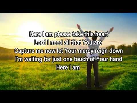 Here I Am - Tamela Mann (Christian Worship/Gospel Song with Lyrics)