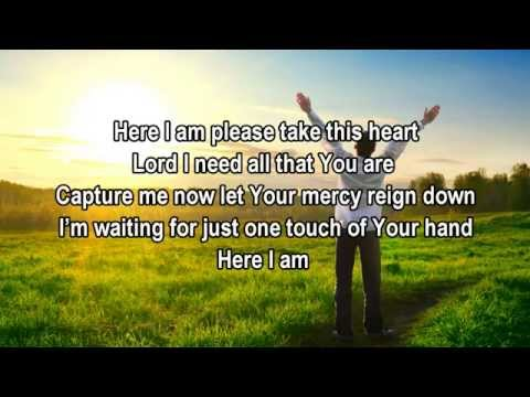 Here I Am - Tamela Mann (Christian Worship/Gospel Song with Lyrics)