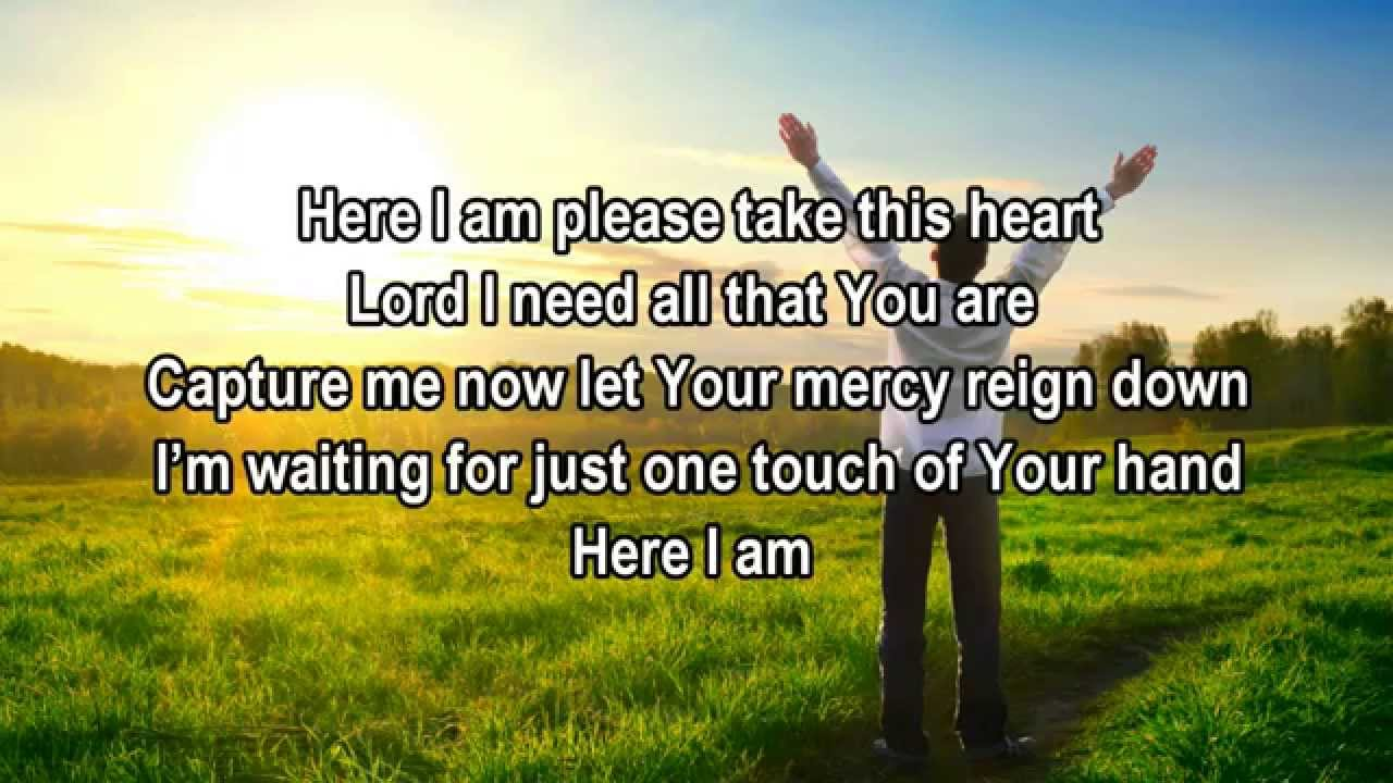 here i am tamela mann christian worshipgospel song with lyrics youtube