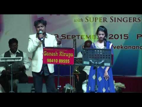 MUKESH & Super Singer PRIYANKA in GANESH KIRUPA Best Light Music Orchestra & TVG MALAYSIA
