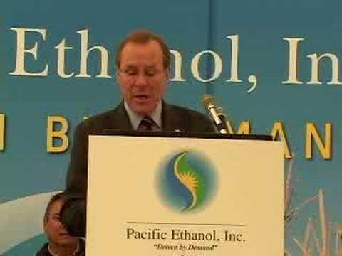 Governor Kulongoski Welcomes Pacific Ethanol to Oregon
