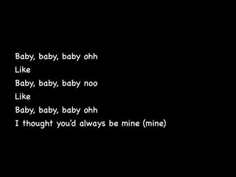 Baby by Justin Bieber ft. Ludacris ♥ with lyrics.