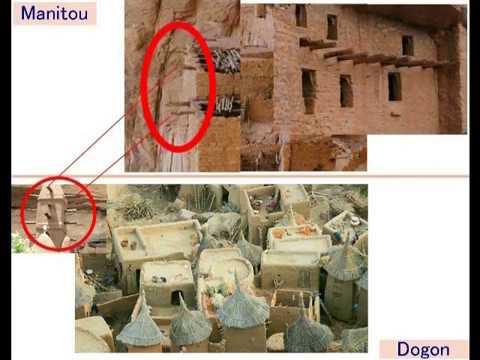 2550【02】Manitou and Dogons Cliff Dwellings for Skeptics懐疑派の方のためのマニトウとドゴンの崖住居by Hiroshi Hayashi, Japa
