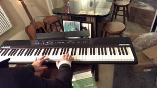 Alesis Recital Keyboard Unboxing + First Play