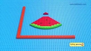 Lego Fruits Bangla | Learn about fruits with toy bricks in bangla | kiddiestv bangla