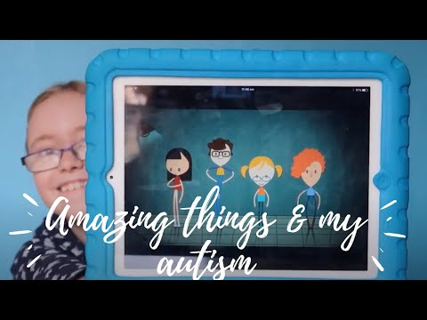 Amazing things project - 10 year old girl explains her autism & PDA