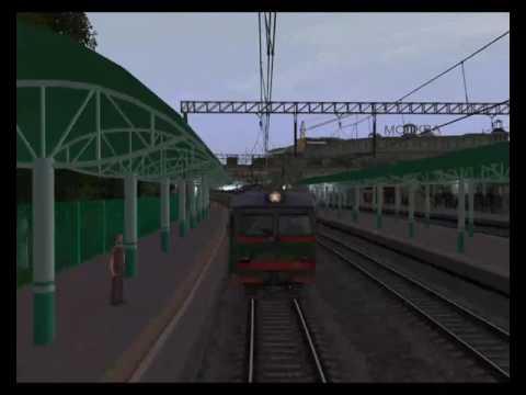 Trainz 2012 Электропоезд №6303 от Москвы до Можайска