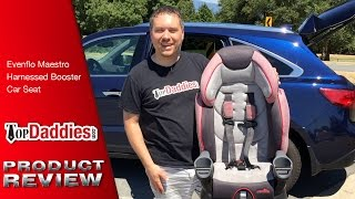 Evenflo Maestro Burke Harnessed Booster Car Seat Review
