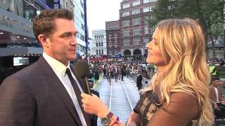 The Girl On The Train: Director Tate Taylor Red Carpet Movie Premiere Interview