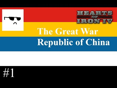 Hoi4-The Great War: Republic of China (1910)