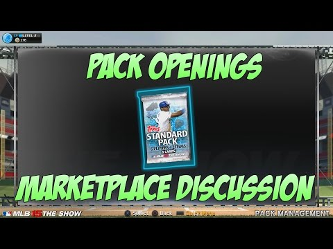 MLB 15 The Show PS4 - Card Pack Openings - First Diamond - Marketplace talk