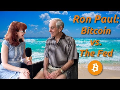 Ron Paul: Bitcoin vs. The Fed