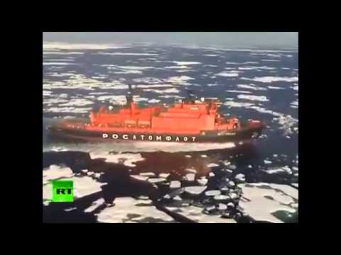 Russian NUCLEAR WARSHIPS heading to the Arctic Circle to tell US Navy to KEEP OUT