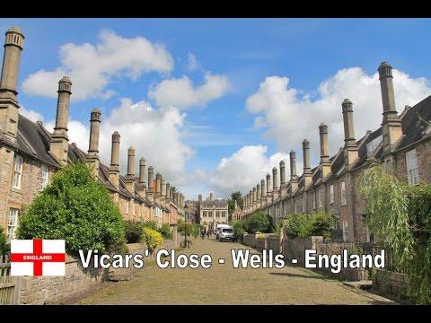 Vicars' Close - Wells - Somerset - England - UK (1080p)