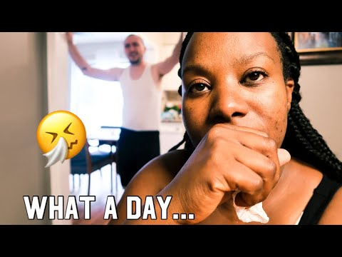 A surprise for Zoe, everyone's sick, marriage problems | interracial family vloggers